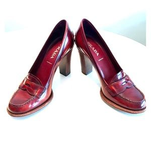 Prada Loafer Pump